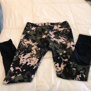 Camouflage workout pants